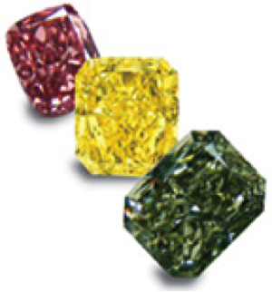 colored diamond diamonds fluorescence fancy pricescope wiki leibish color